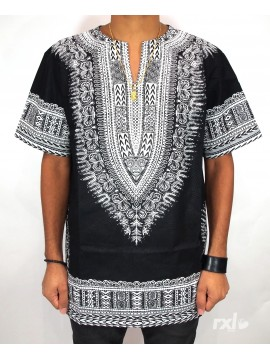 RXL Paris - Dashiki Oversized Noir et Blanc