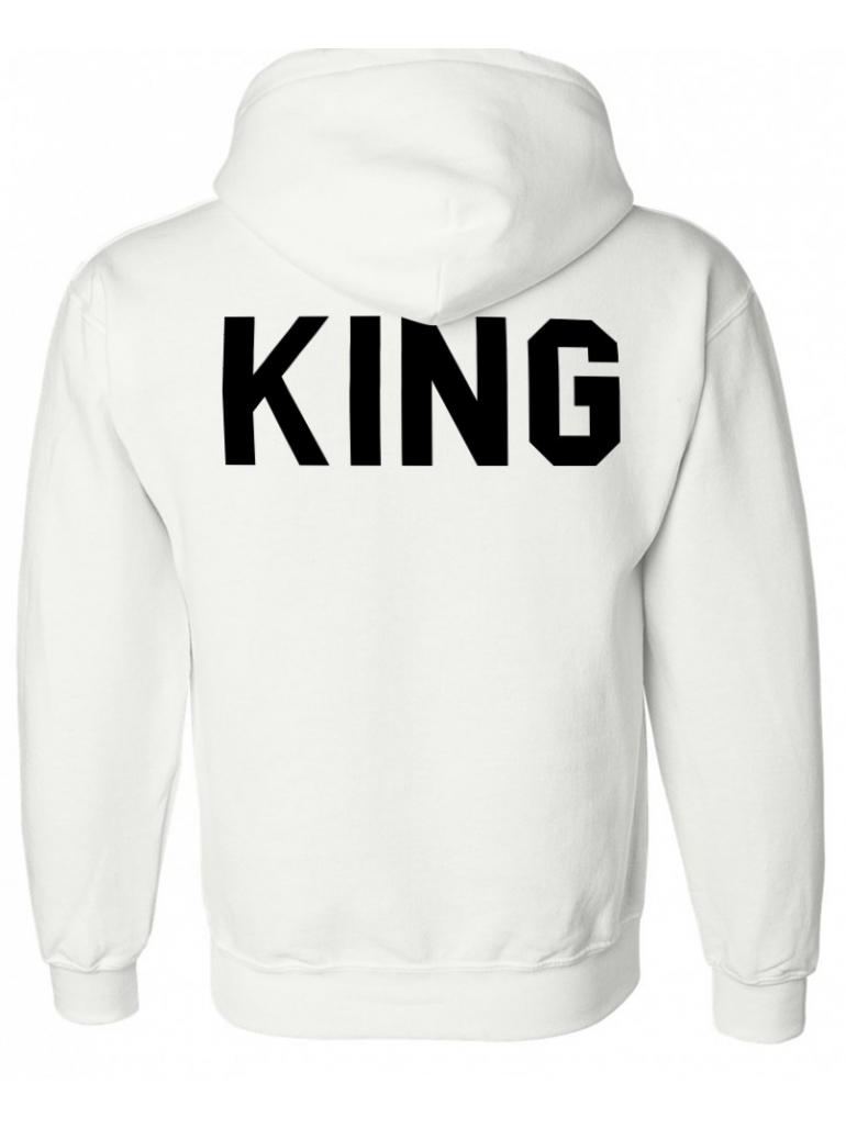 RXL Paris - King Hoodie in White