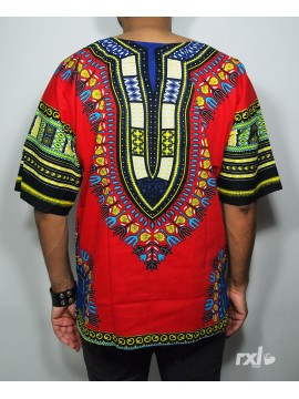 "RXL Paris - Dashiki ""YA MADO"" Wax Rouge"