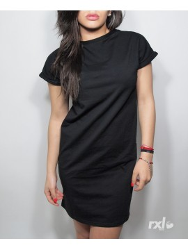 RXL Paris - Women Long Shirt Oversize in Black