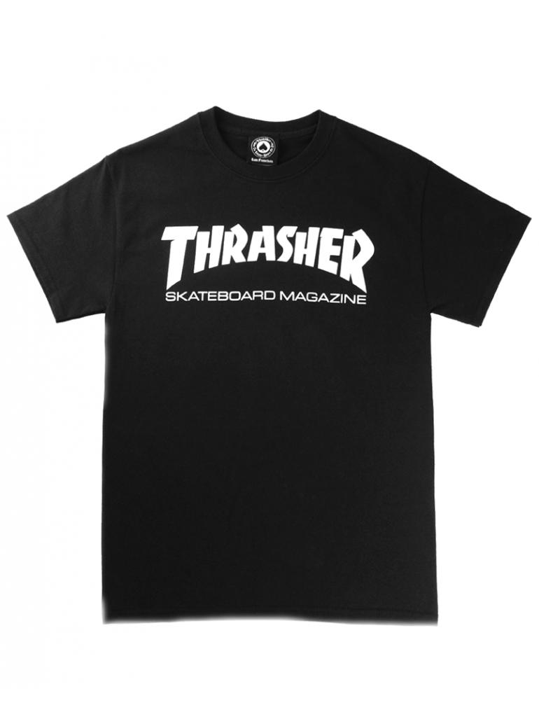 Thrasher - Thrasher Skate Magazine Tee in Black
