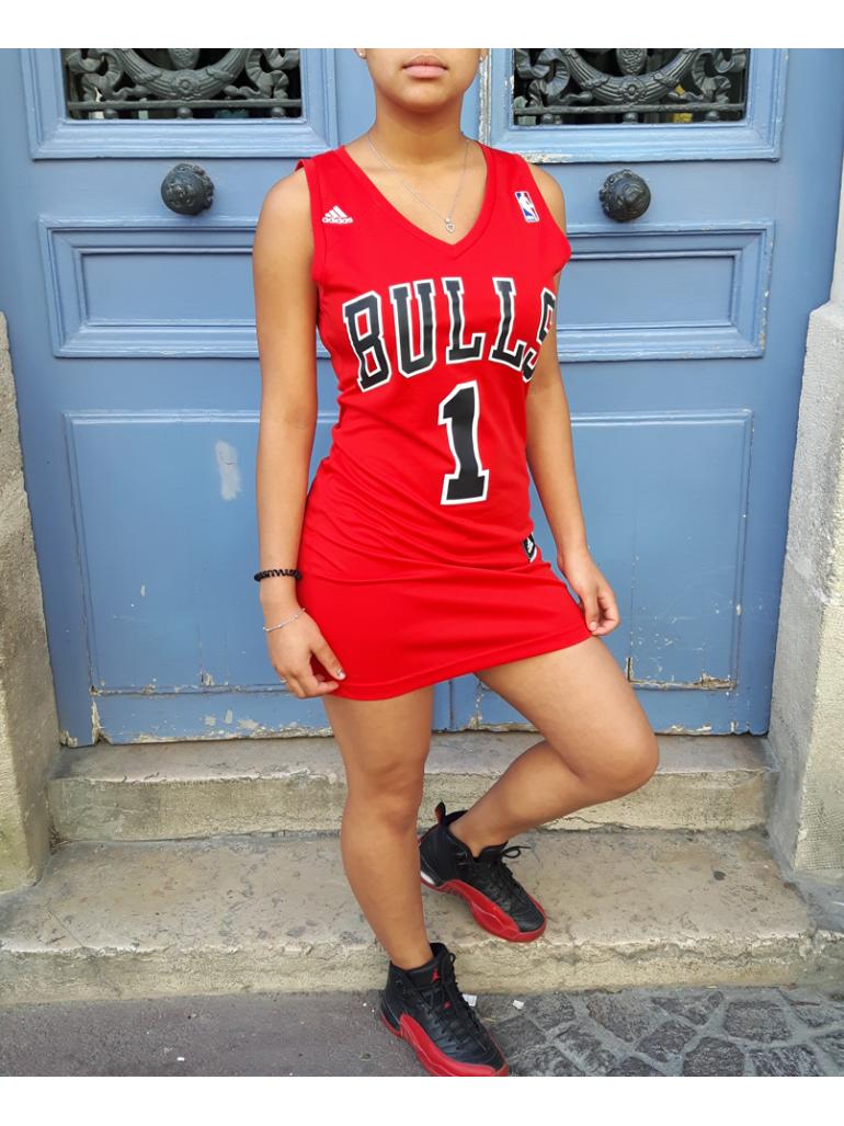 Création RXL Paris - Robe Femme Chicago Bulls