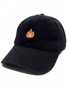 RXL Paris - Fire Emoji Dad Hat Black