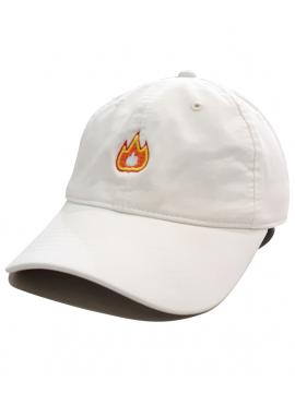 RXL Paris - Fire Emoji Dad Hat Blanc Cassé