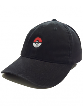 RXL Paris - Pokeball Casquette Dad Hat Noir