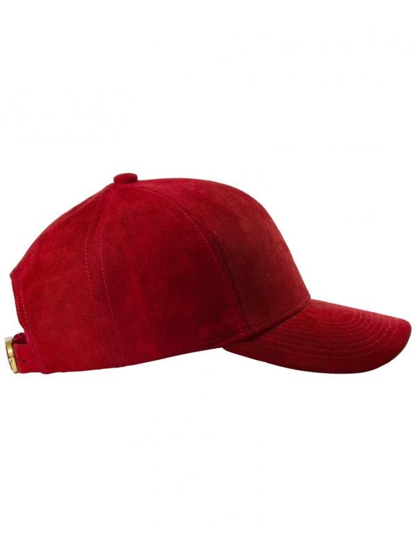 DS|LINE - Trucker Strapback Suede Rouge / Or