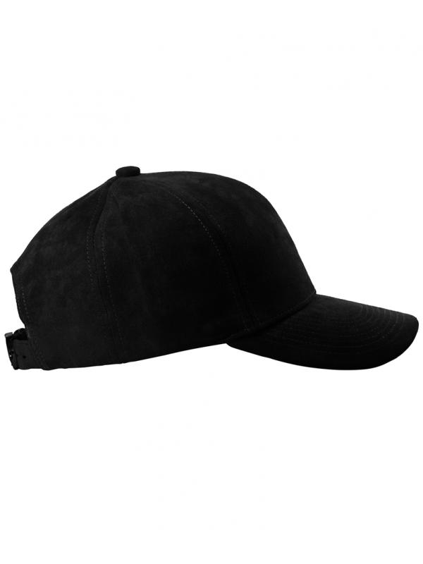 DS LINE - Trucker Strapback Suede Noir / Noir