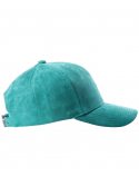 DS|LINE - Trucker Strapback Turquoise Suede / Argent