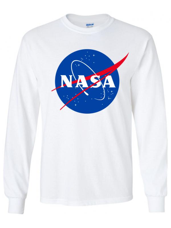 RXL Paris - Tshirt Manches Longues NASA Blanc