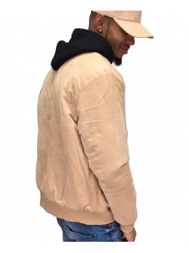 DS|LINE X Canvas And Colors Bomber Suede Beige Pastel