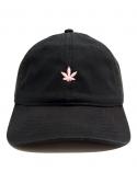 RXL Paris - Casquette Dad Hat Puff Puff Pastel Noir/Rose