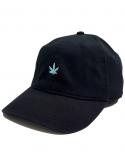 RXL Paris - Puff Puff Pastel Dad Hat in Black/Blue Sky