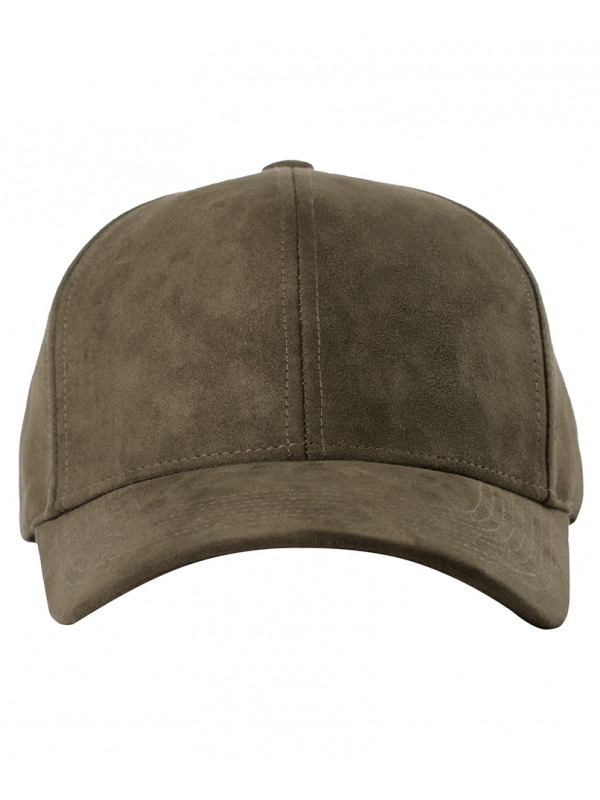 DS|LINE - Trucker Strapback Suede Taupe / Gold