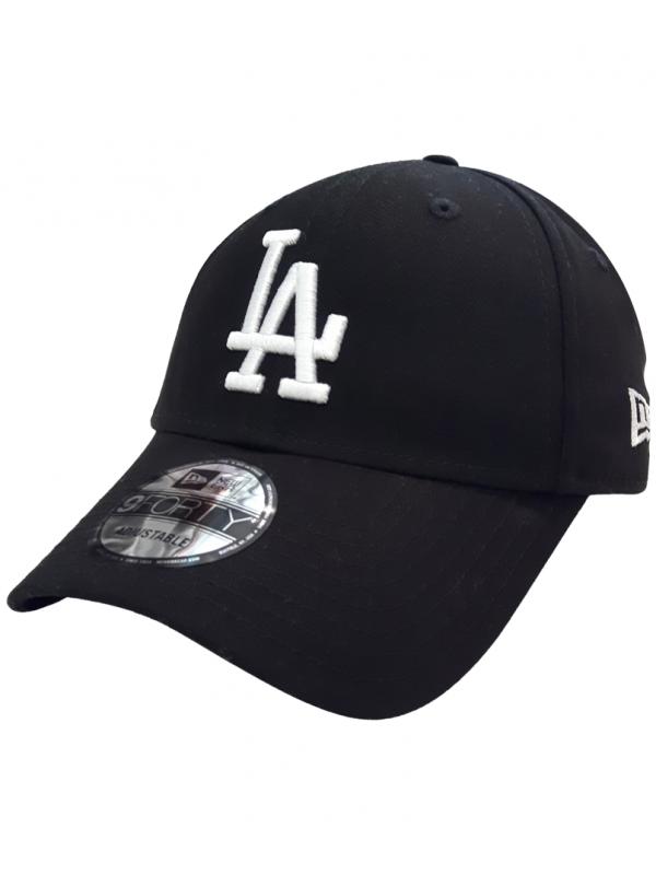 New Era 9Forty League Essential Los Angeles Dodgers Noir