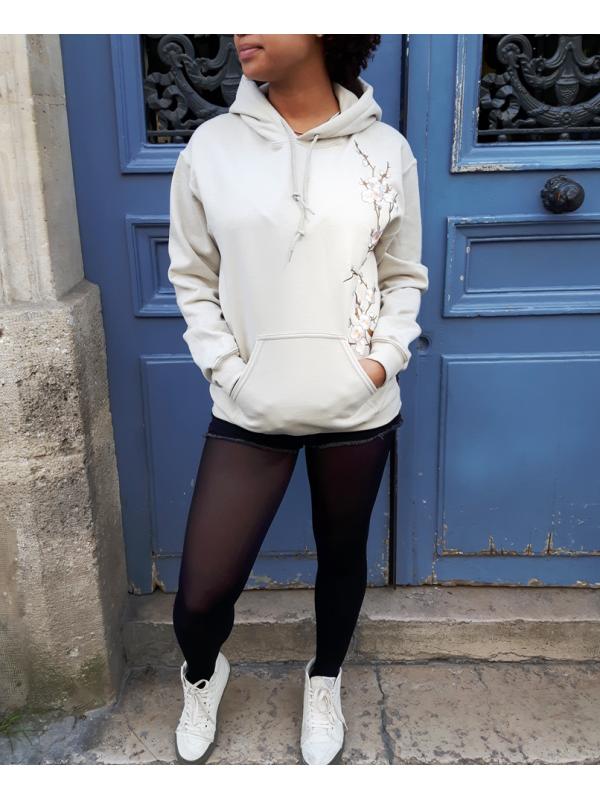 RXL Paris Sakura Hoodie Sand/White