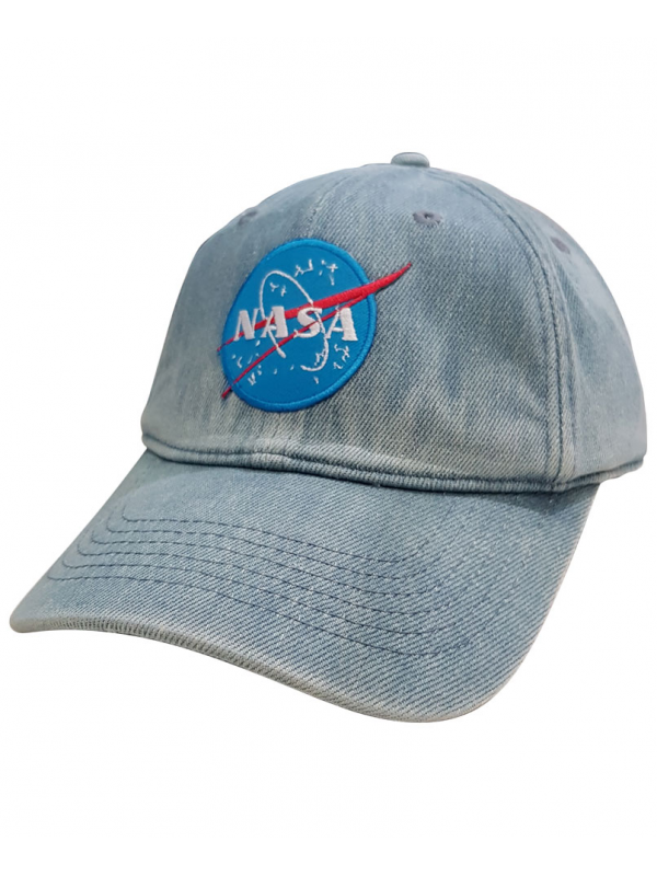 RXL Paris Casquette Jeans Dad Hat NASA Space Agency