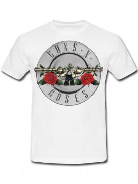 Guns N' Roses Tee White
