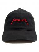 RXL Paris Casquette Dad Hat Patch Metallica Noir