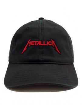 Casquette Metallica Dad Hat Noir