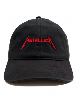 Metallica Dad Hat Cap Black