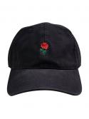 RXL Paris Rose Dad Hat Black/Red
