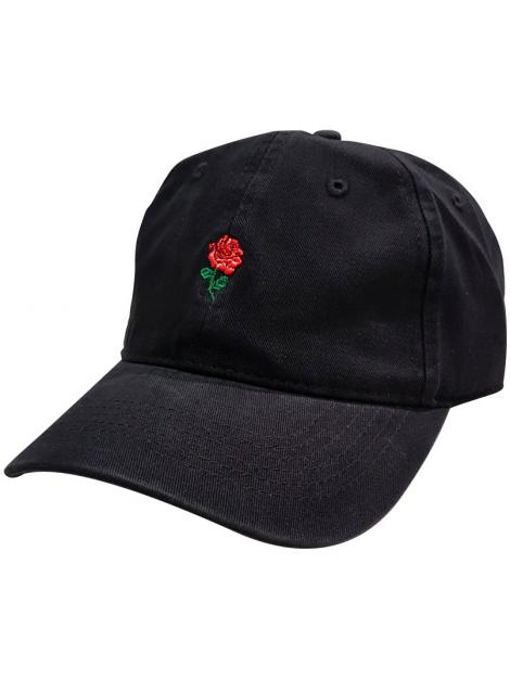 RXL Paris Casquette Dad Hat Rose Noir/Rouge