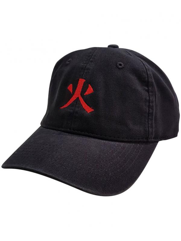 RXL Paris Casquette Dad Hat Hokage Sign Noir
