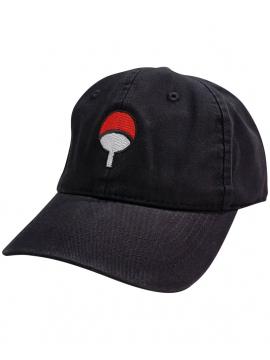 RXL Paris Casquette Dad Hat Uchiha Logo Noir