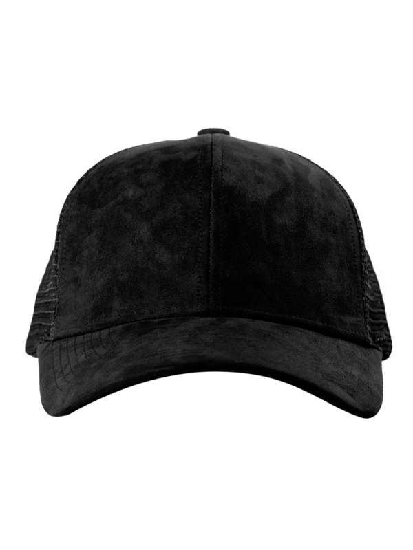 DSLINE Trucker Baseball Black Suede / Gold
