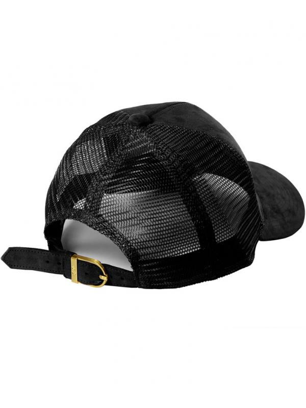 DSLINE Trucker Baseball Black Suede / Gold