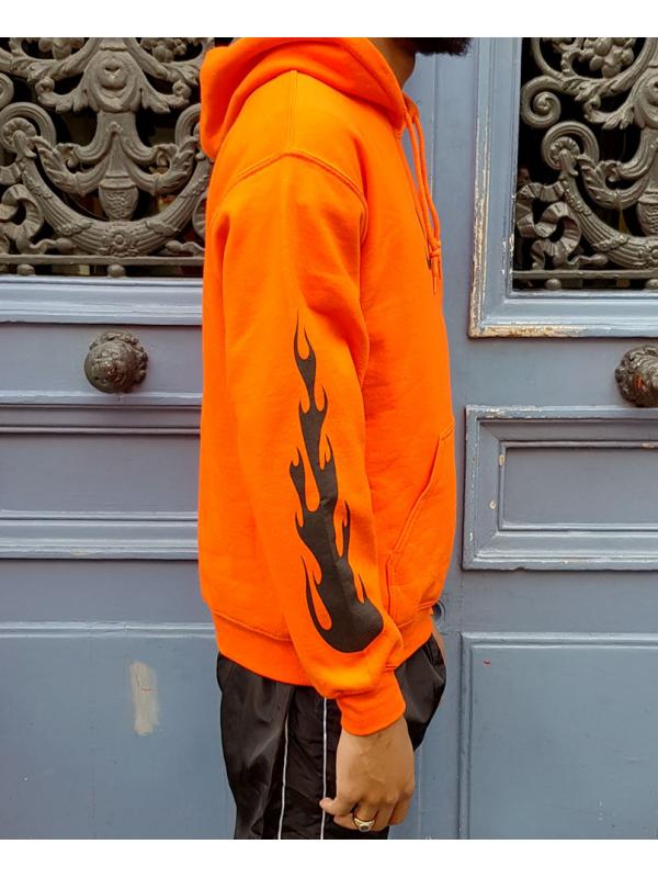 RXL Paris Majin Vegeta Hoodie Orange