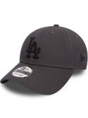 New Era 9Forty Essential Los Angeles Anthracite