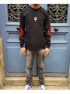 RXL Paris Uchiha Clan Tshirt Manches Longues Noir