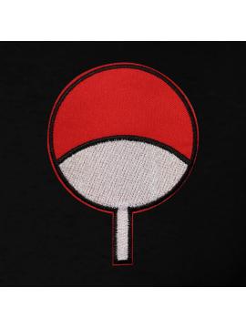 RXL Paris Uchiwa Patch Brodé T-Shirt Noir