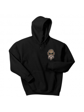 Hoodie master Roshi Dragon Ball super DBZ embroided Black by RXL