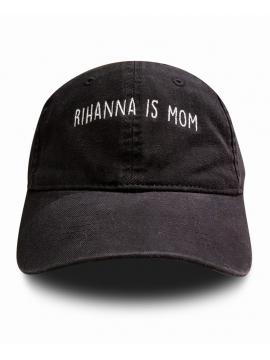 RXL Paris Rihanna Is Mom Dad Hat Black