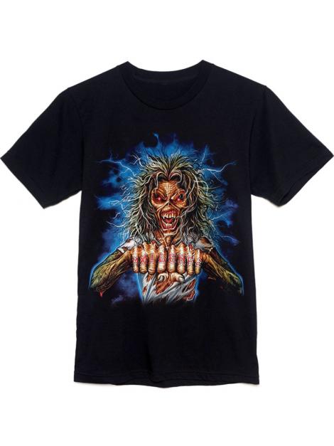 Iron Maiden Maiden FC Tee Black