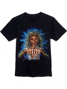 Iron Maiden T-Shirt Maiden FC Noir