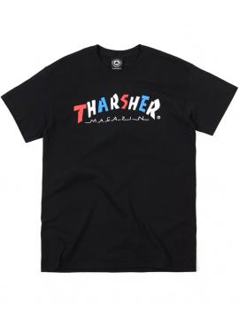 Thrasher T-Shirt Knock Off Noir