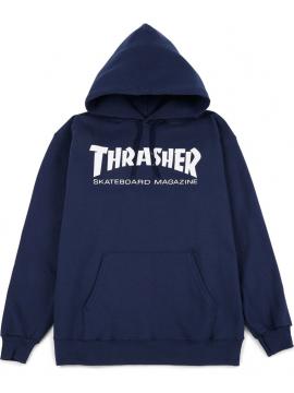 Sweat Capuche Thrasher Skate Mag Bleu
