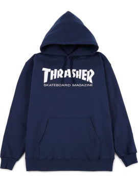 Thrasher Skate Mag Hoodie Navy