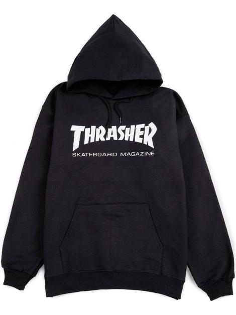 Thrasher - Sweat Capuche Skate Mag Noir