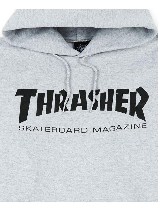 Thrasher - Skate Mag Hoodie in Grey