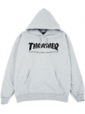 Thrasher - Sweat Capuche Skate Mag Gris