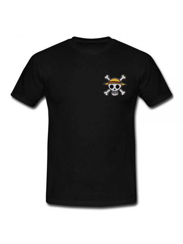 RXL Paris One Piece Patch Brodé T-Shirt Noir