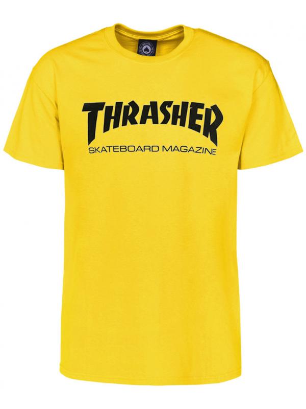 Thrasher Skate Mag Tee Yellow