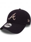 New Era 9Forty Casquette Atlanta Braves Essential Noir