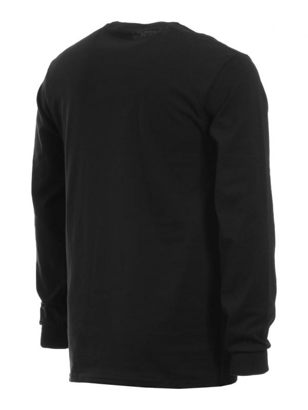 Thrasher Atlantic Drift T-Shirt Manches Longues Noir