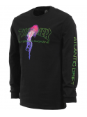 Thrasher Atlantic Drift T-Shirt L/S Black