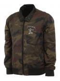 Thrasher Gonz Reversible Coach Jacket Black Camo